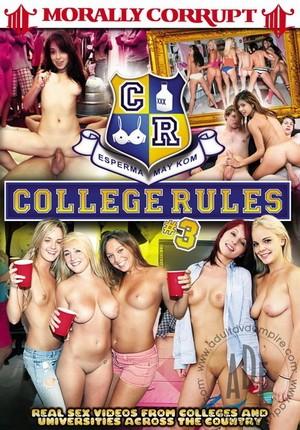 Порно правили колледжа