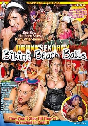 Пьяная оргия секс бикини пляж вечеринка