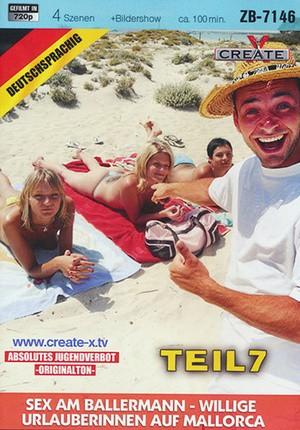 Секс на пляжах малёрка